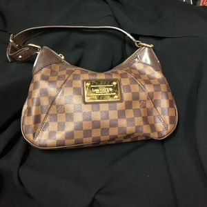 Louis Vuitton Thames Damier Ebene shoulder bag